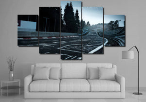 Nurburgring Canvas 3/5pcs FREE Shipping Worldwide!!