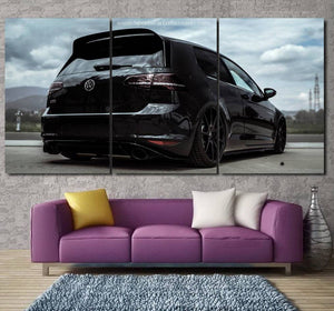 Golf MK7 GTI Canvas 3/5pcs FREE Shipping Worldwide!!