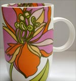 Ciroa  Ceramics - Client wanted something young, retro and funky with a modern placement of the decal on the cup.