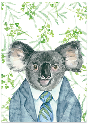 Kevin Koala - A6 Art Card