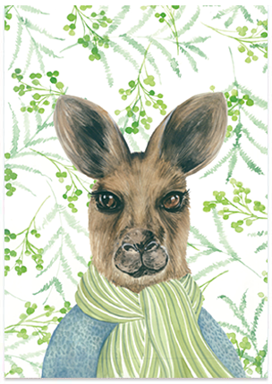 Rupert Roo - A6 Art Card
