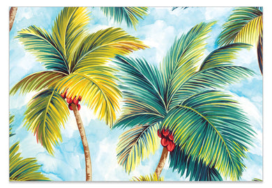 Palm Tree Allover A6 Art Card