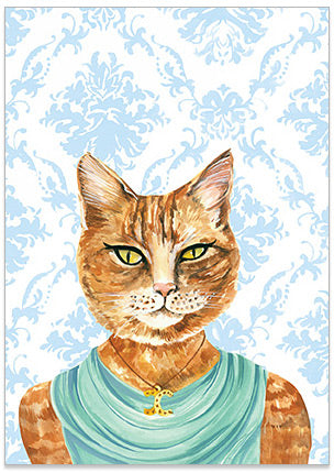 Fiona Fairlight - A6 Art Card