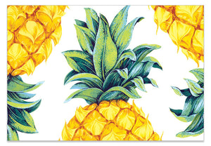 Pineapple Top and Tail - A6 Art Card