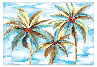 Palm Tree Dream A6 Art Card