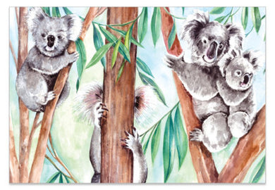 Hide & Seek Koala - A6 Art Cards