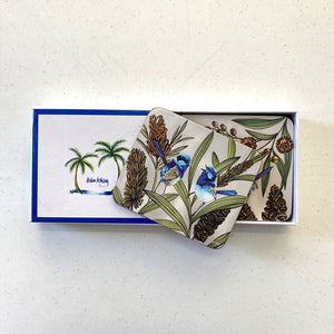 Blue Wren Coasters & Placemats