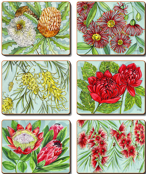 Bush Blooms Coasters & Placemats
