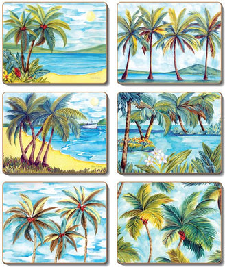 Palm Trees Coasters & Placemats