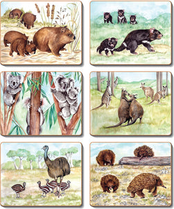 Native Animals Coasters & Placemats