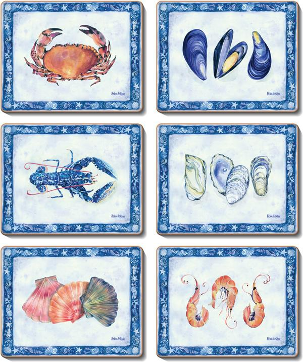 Seasalt Coasters & Placemats