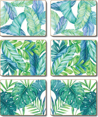 Tropical Leaves Coasters & Placemats
