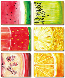 Fruit Slice Coasters & Placemats