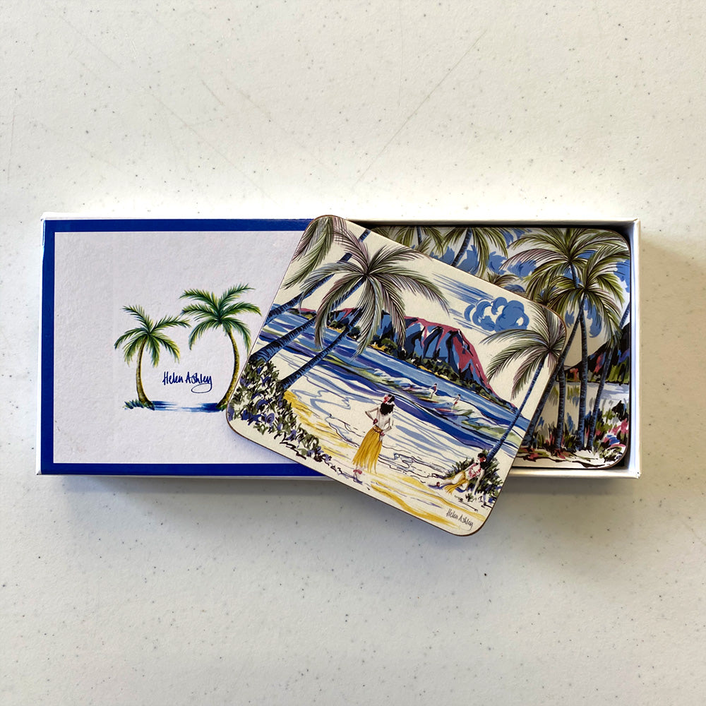 Hawaiian Holiday Coasters & Placemats