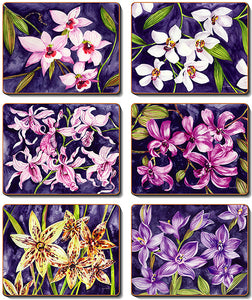 Orchid Garden Coasters & Placemats