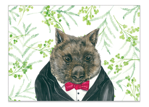 Willy Wombat - Print