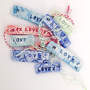 Porcelain Gift Tags (5)