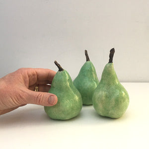 Porcelain Pear Set Large (3)