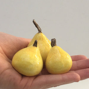 Porcelain Pear Set Small (3)