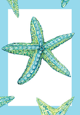 Starfish A6 Art Card