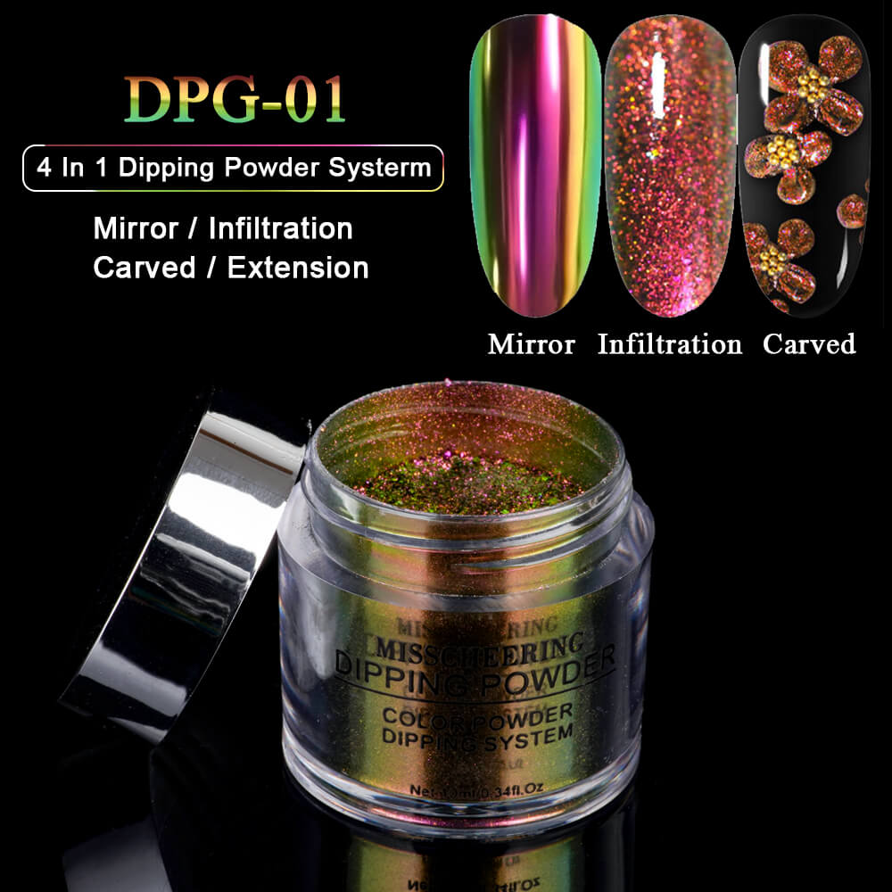 US WAREHOUSE 4 in 1 Dipping Powder DPXG