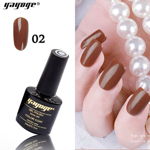 YAYOGE 6Colors Caramel Series UV LED Gel Nail Polish Soak Off Varnish Gel Nail Art DIY Gel - YAYOGE Official