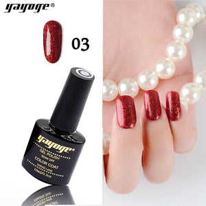 YAYOGE 10ml Red Diamond Series Soak Off UV LED Gel Nail Polish Long Lasting Lacquer Nail Art DIY Tool - YAYOGE Official