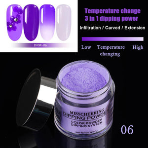 YAYOGE 3IN1 Chameleon Dipping Powder Temperature Change Color No Need Cure - YAYOGE Official