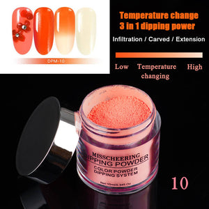 US WAREHOUSE 3IN1 Chameleon Extension Carving Dipping Powder - YAYOGE Official