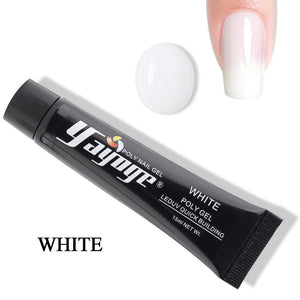 UK WAREHOUSE YAYOGE 15ml Polygel UV LED Extension Beginner Gel- Upgraded Version - YAYOGE Official
