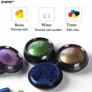 US WAREHOUSE YAYOGE 11Colors/Set Mirror Powder Chrome Nail Art Glitter Pigment - YAYOGE Official