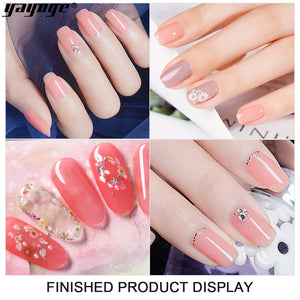 YAYOGE 10ML Jelly Opal Gel Nail Polish Semi-transparent Candy Nude Seires Soak Off UV Gel - YAYOGE Official