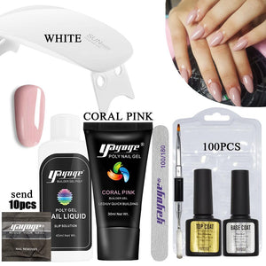 9Pcs/set 7 Colors Poly Gel Set P26-S7(30ml)