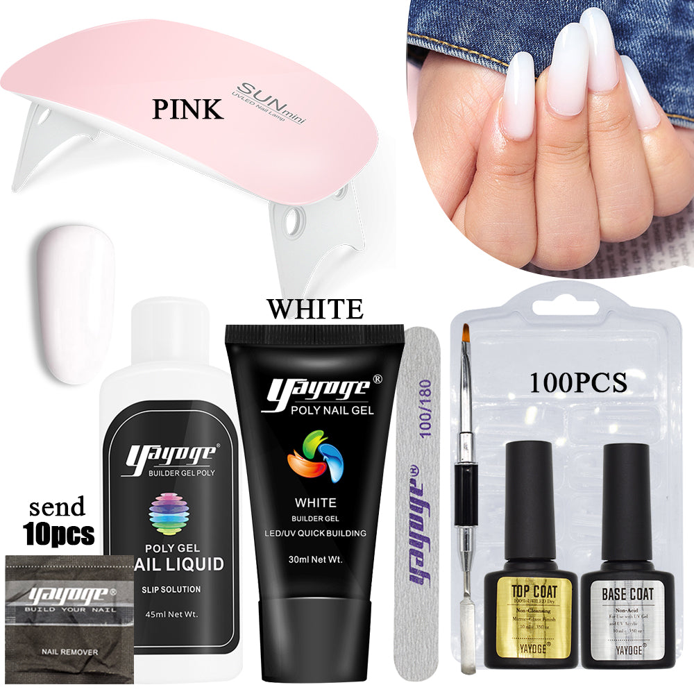 50% OFF Poly Gel Nail Kit P26-S7(30ml) US WAREHOUSE