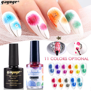 YAYOGE UV LED Bubble-Flower Set Blooming Flower Quick Building Gel Polish Essential Kit - YAYOGE Official