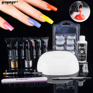 YAYOGE 16Pcs/Set 15ml UV LED Thermal Polygel Kit - YAYOGE Official