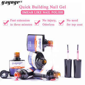 YAYOGE #1 Color UV LED Builder Liquid Gel Quick Extension Liquid - YAYOGE Official