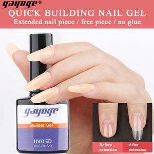 YAYOGE #4 Color UV LED Builder Liquid Gel Quick Extension Liquid - YAYOGE Official