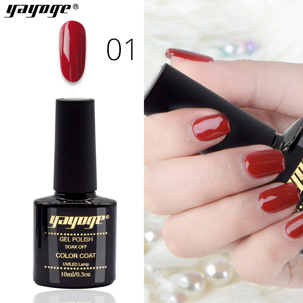 6 Colors Wind Red Series Soak Off UV LED Gel Polish(10ml)
