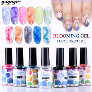 YAYOGE 15ml Need Cure Blossom Ink Liquid No Nail Art Transparent Blooming Flower Effect - YAYOGE Official