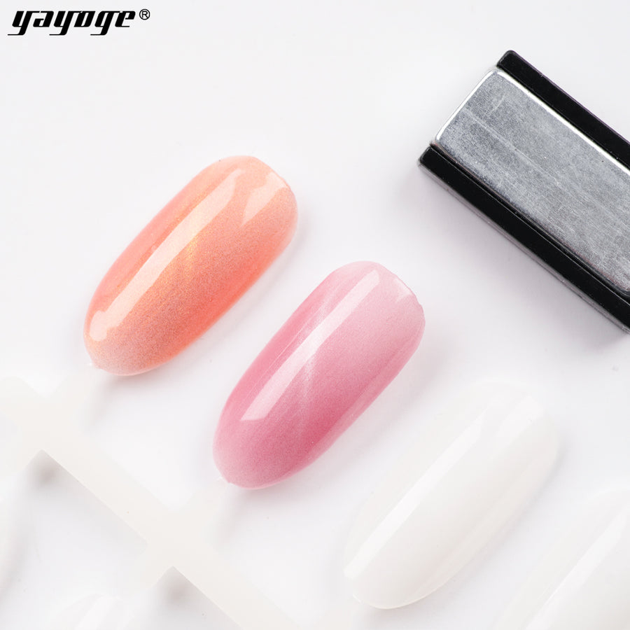 YAYOGE 10ml Crystal Cat Eye Gel UV Nail Magnet Gel Polish Varnish Long Lasting Lacquer Soak Off Manicure Elegant A75 - YAYOGE Official