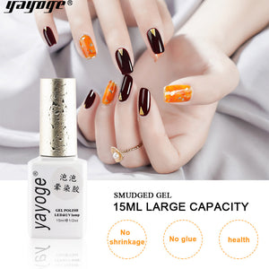YAYOGE 15ml Transparent Blossom Gel Polish UV LED Nail Art Painting Drawing Blossoming Gel Lacquer UV Nail Gel Polish - YAYOGE Official