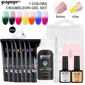 7 Colors Chameleon Poly Gel Kit P14-S3-7P(15ml)