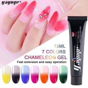 UK WAREHOUSE YAYOGE 15ml Thermal Polygel Temperature Color Change - YAYOGE Official