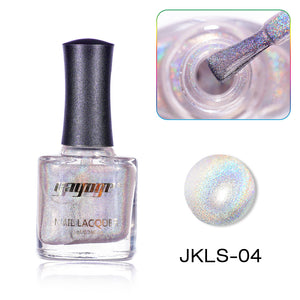 YAYOGE 12ml Highly Pigmented Holographic Nail Polish Unltra Fine Glitter Varnish Nail Laser Lacquer - YAYOGE Official