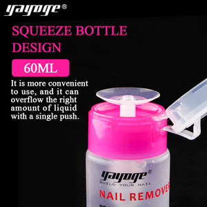 YAYOGE 60ml Nail Cleaner Gel Polish Remover Unloading Liquid Nail Art Cleaner Manicure Tool - YAYOGE Official