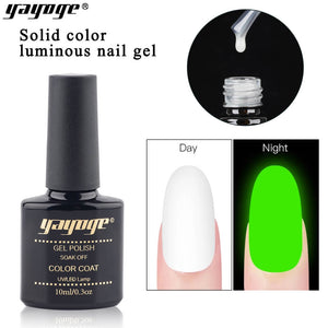 YAYOGE 6Colors 10ml Summer Luminous Nail Gel Polish Soak Off - YAYOGE Official