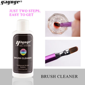 US WAREHOUSE YAYOGE 45ml Nail Art Brush Cleaner Brush Tip Cleaning Liquid - YAYOGE Official