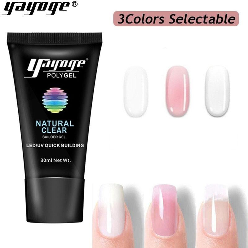 UK WAREHOUSE 3 Basic Colors Poly Gel P16(30ml)