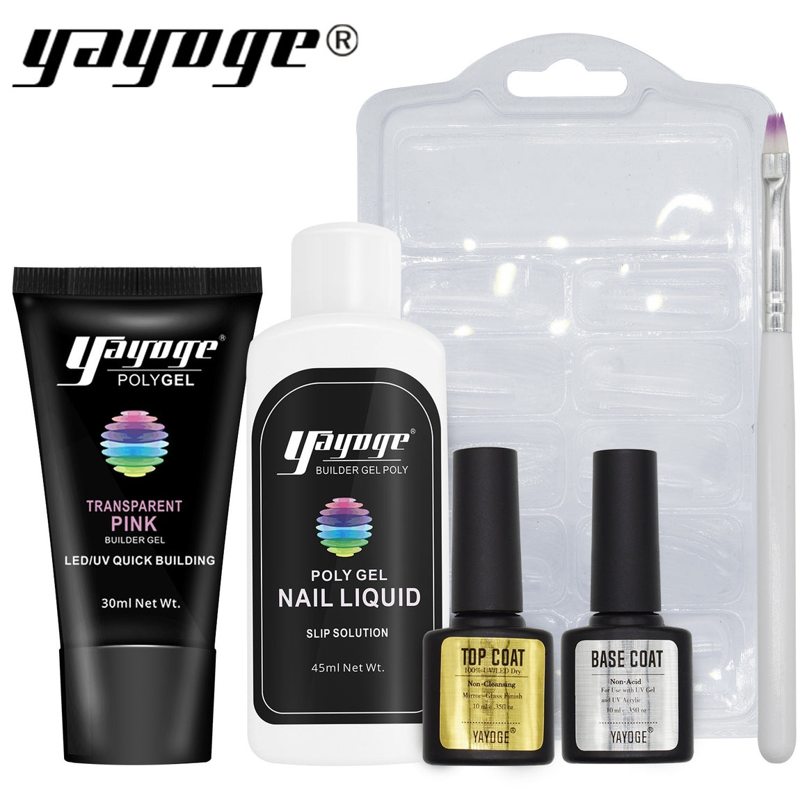 3 Basic Colors Poly Gel Set P16-S3(30ml)